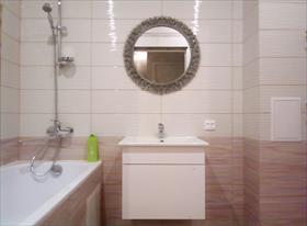 Туалет и ванна раздельные