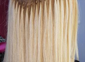 Наращивание волос испанское холодное