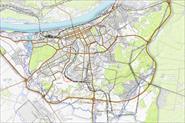 Карта Перми