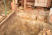 Восстановление цоколя при входе в дом