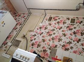 Монтаж розеток под кухонный гарнитур.