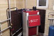 Установка котла отопление
