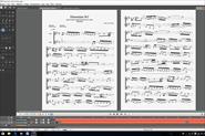 Набор нот и табулатуры в Guitar Pro 6