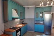 Кухня  фасады врезерованый мдф в эмали
