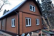 Реконструкция старого дома , фундамент, стены и крышу обновили.