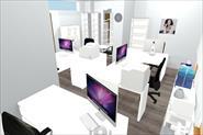 3D проект офисного помещения