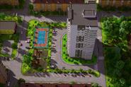 Визуализация многоэтажного здания