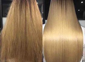 Кератиновое выпрямление / ботокс для волос