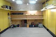 Ремонт гаража под ключ. Укладка плитки на пол