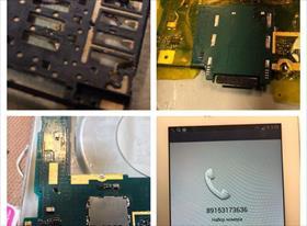 Поломка коннектора для SIM-карты
