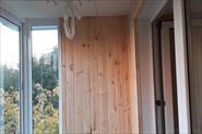 Отделка балкона на ул.Виницкая. с остеклением.