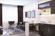 Дизайн проект квартиры студия 60 кв. м. Москва