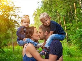 семейные фотосессии в парках Москвы