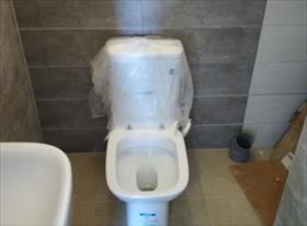 Установка сантехники сан узел, ванна