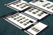 Дизайн сайта по аренде коттеджей