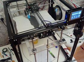 3D  принтер и печать