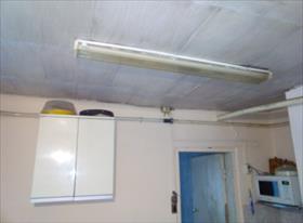 Замена светильника дневного света лпо 2*40 на два светильника с светодиодными лампами, замена  одинарного выключателя на двойной.