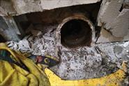 Замена канализации(канализационный стояк вмурован в стену)