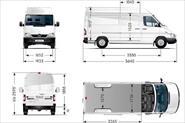 Размеры Mercedes-Benz Sprinter