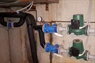 Автоматическое нагнитание давления в системе отопления в многоквартирном доме.
