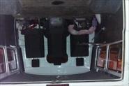 Салон грузового УАЗ