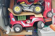 Погрузка, перевозка и разгрузка детских аттракционов и электромобилей.