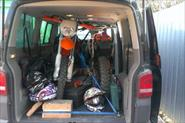 Перевозка мотоциклов.