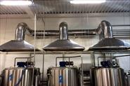Монтаж вентиляции на молочном заводе.