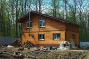 Строительство и отделка срубового дома-бани в стиле