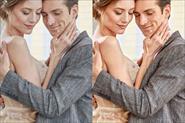 До и после обработки в Фотошоп