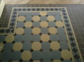 Декоротивная кладка плитки