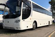 Автобус Scania, белый цвет, 50 мест