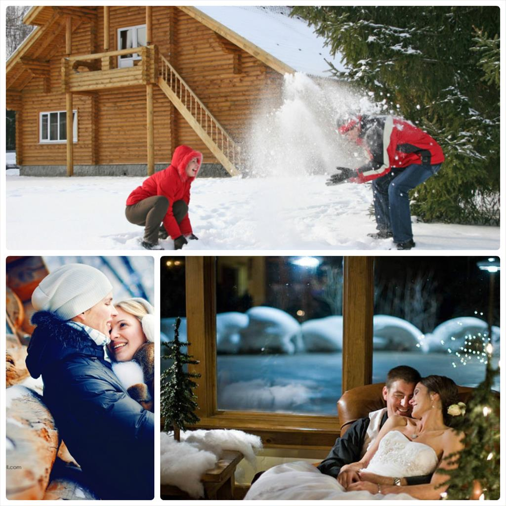 фотосессия зимой для влюбленных