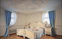 Выбор интерьера спальни в стиле барокко