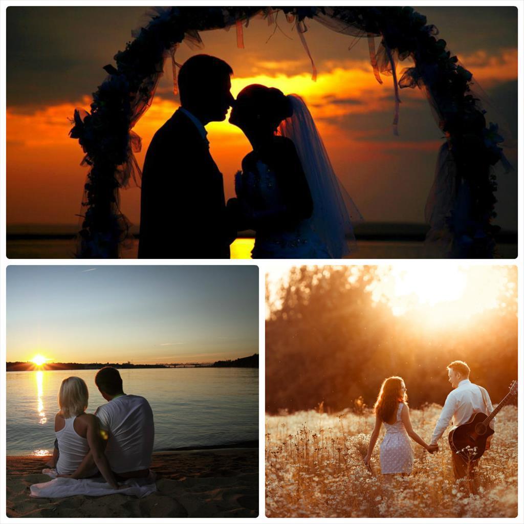 свадьба фотосессия на природе