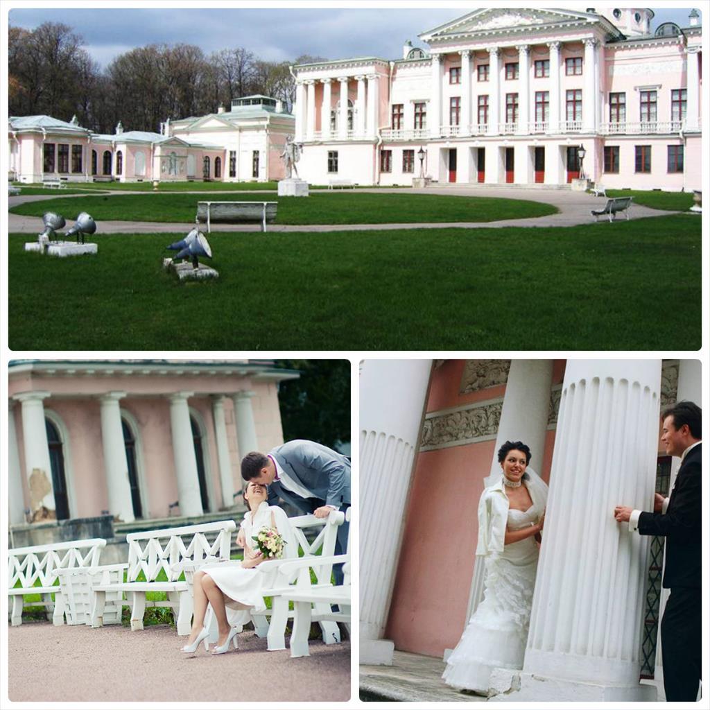 свадебная фотосессия места в москве