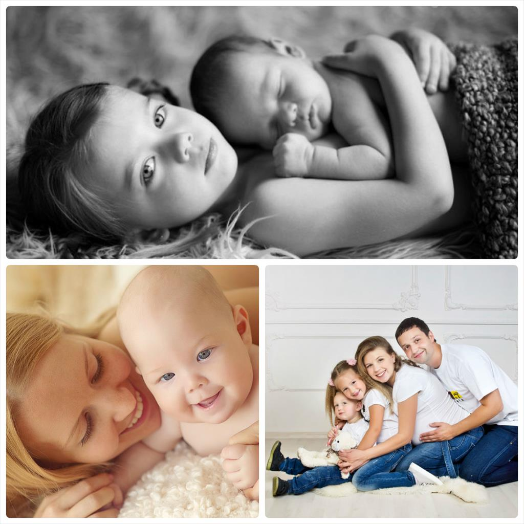 фотосессия мамы с ребенком