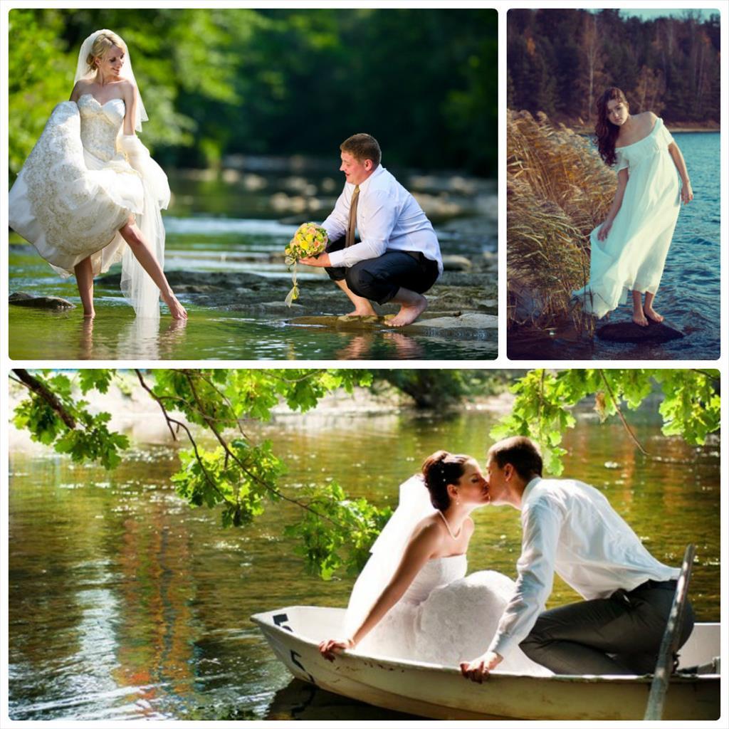 фотосессия свадебная на природе
