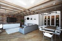 Идеи дизайна квартиры в стиле лофт