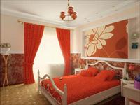 Идеи дизайна спальни в красных оттенках