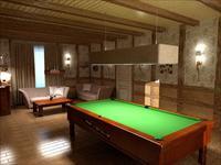 Варианты дизайна бильярдной комнаты