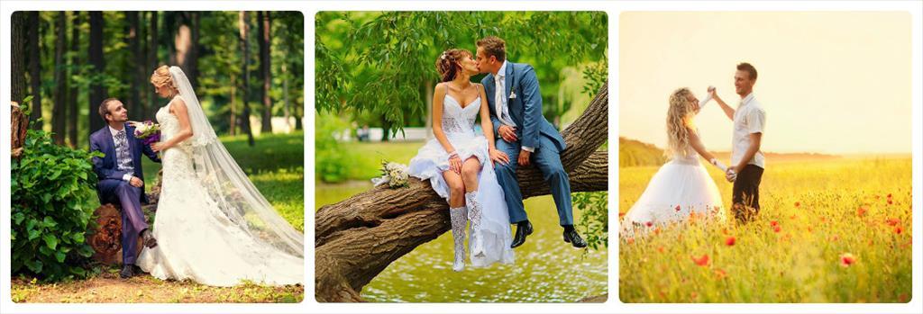 красивые места для свадебной фотосессии в москве